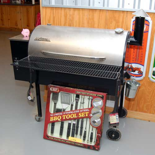 Grill and accessories