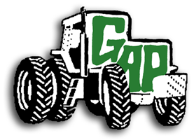 Tractors purchased for parts salvage at Gap Tractor Parts, Inc